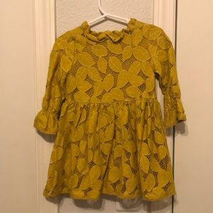 2t Genuine Kids Osh Kosh Mustard Dress